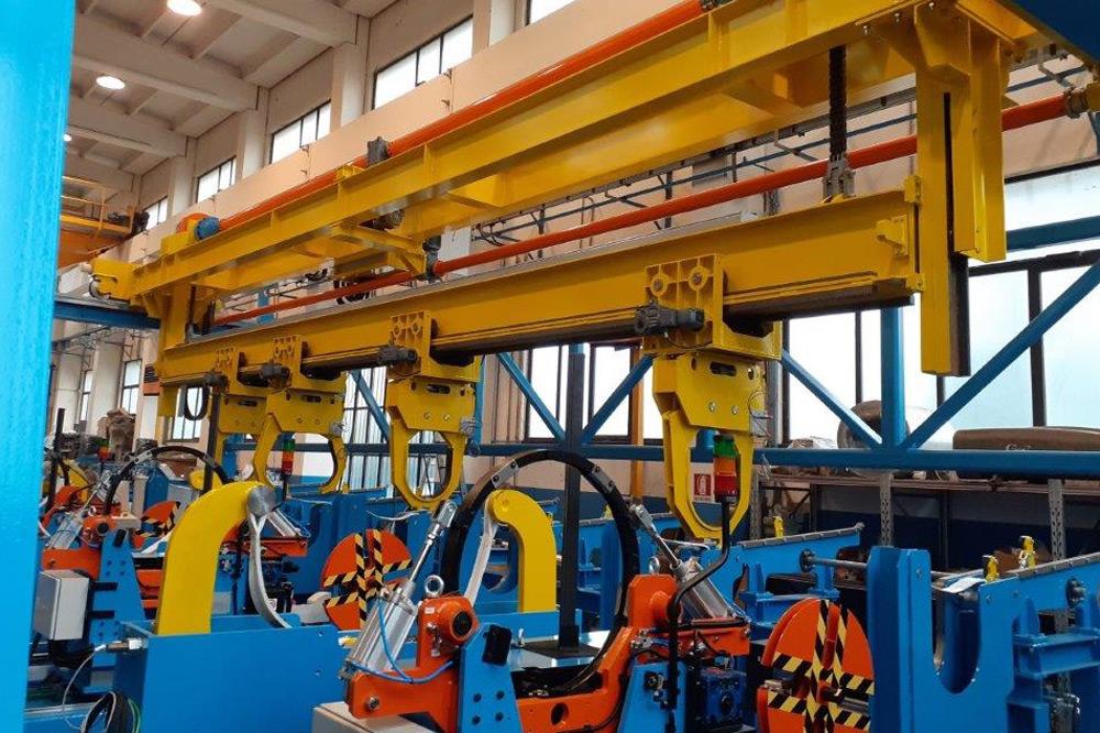 Pipe bundling machines manufacturers italy