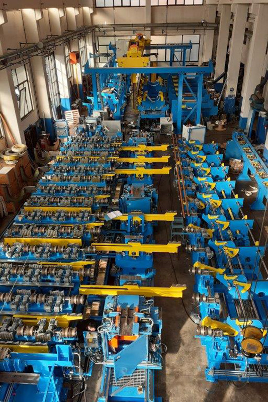 Tube cutting machines manufacturers italy